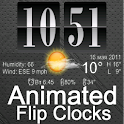Live Wallpaper Flip Clock