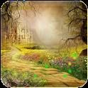 Fairy tale castle wallpaper icon