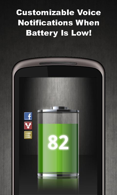 Talking Battery Widget Pro - screenshot