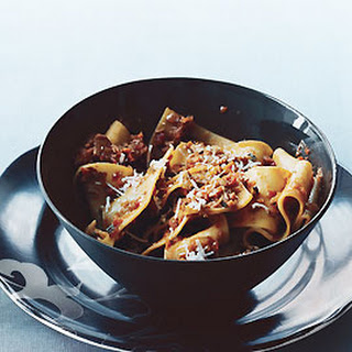 "Pappardelle with Vegetable ""Bolognese"""
