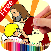 Coloring Book Jesus