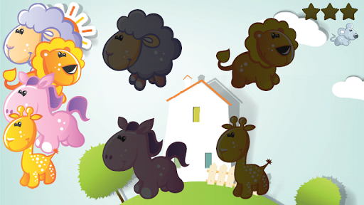 Free Animals Puzzle for Babies