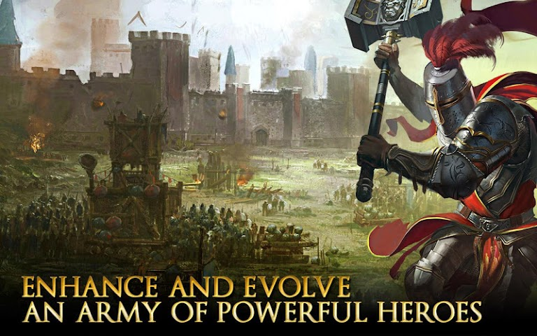 android Heroes of Camelot Screenshot 2
