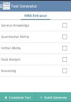 Screenshot of TCY MBA Exam Prep