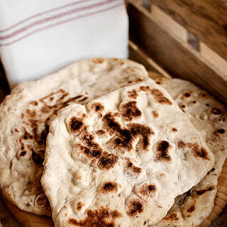 Cumin and Caraway Naan Bread.