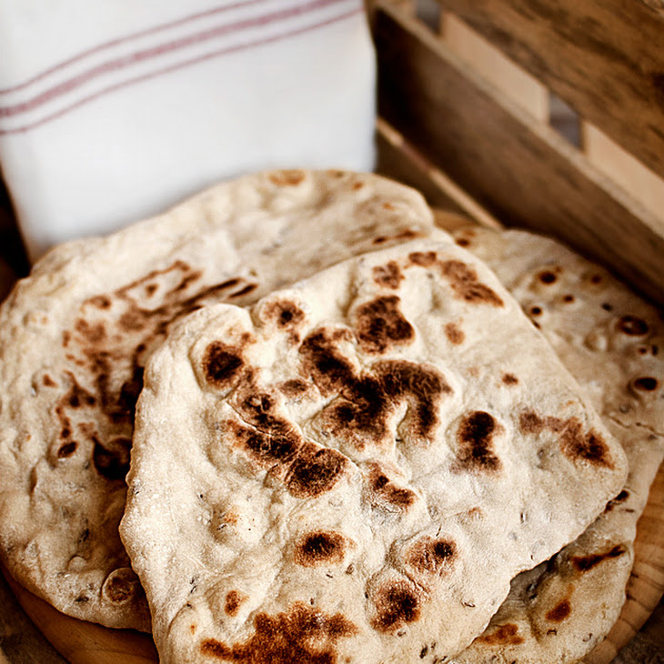 Cumin and Caraway Naan Bread Recipe