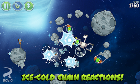 Angry Birds Space HD Screenshot 17
