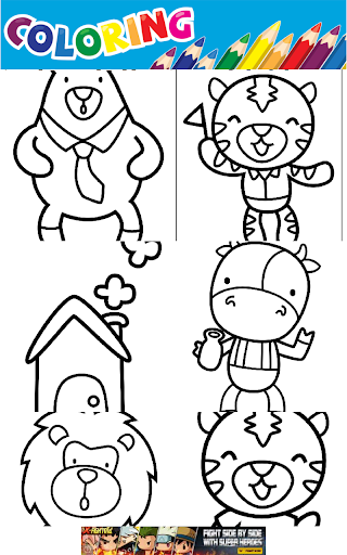 COLORING BOOK COLORING GAMES