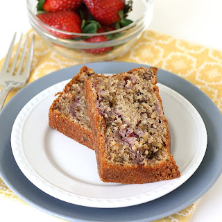 Walnut-Strawberry Quick Bread