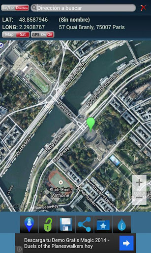 經緯度的GPS坐標