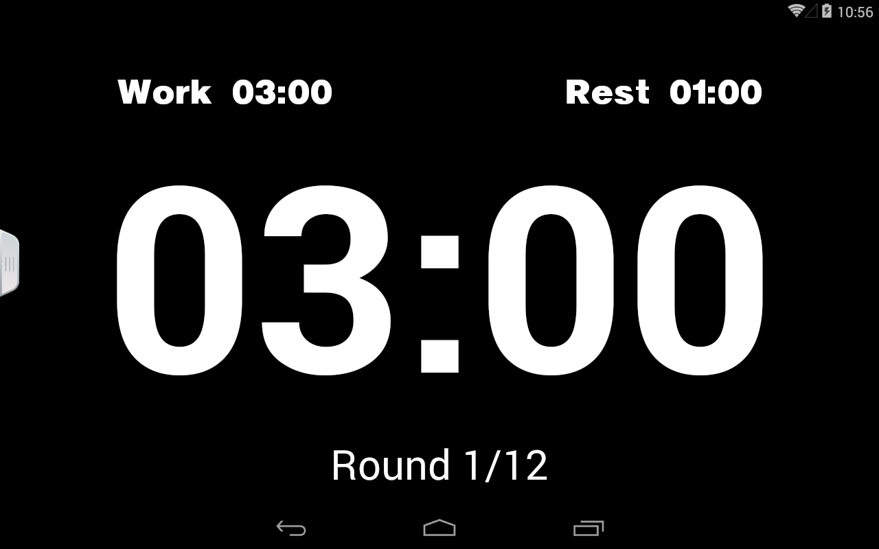 Boxing Interval Timer- screenshot