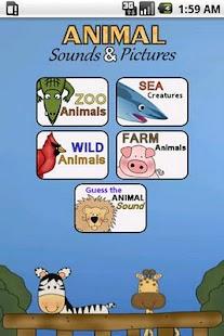 Animal Sounds & Pictures- screenshot thumbnail