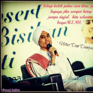 Kata-kata hikmah Ustaz Don