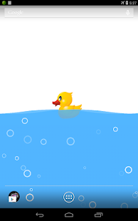 玩免費個人化APP|下載小黃鴨電池動態桌布 app不用錢|硬是要APP