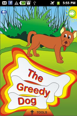 The Greedy Dog - Kids Story
