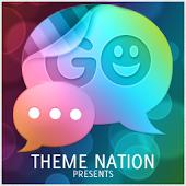 GO SMS Theme Bokeh Brilliance