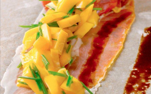 Prosciutto with Peaches and Balsamic Vinegar Recipe