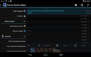 Screenshot of 3C Process Monitor