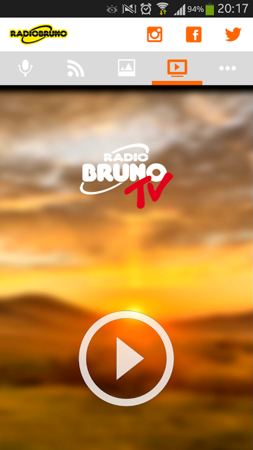 Radio Bruno- screenshot