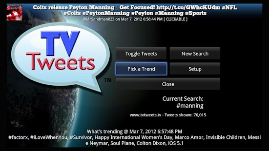 TV Tweets Free - screenshot thumbnail