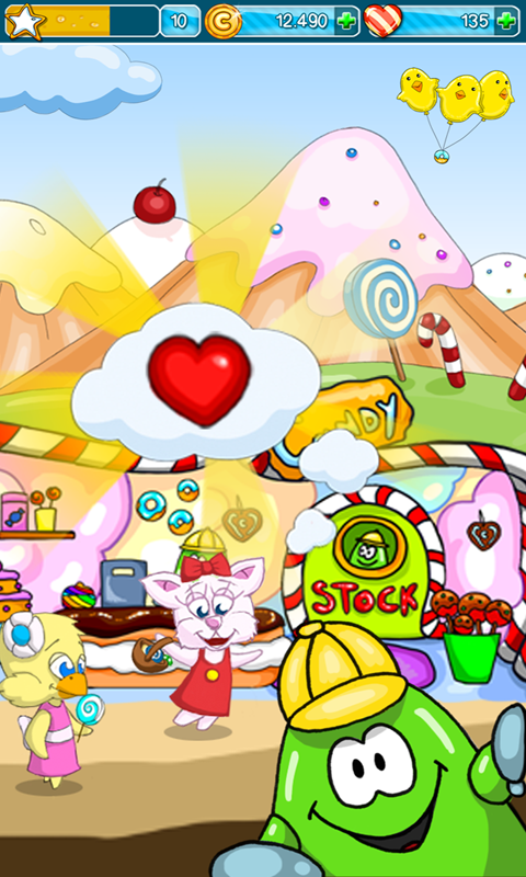 Candy Island Free: Sweet Shop - screenshot