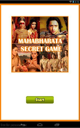 Mahabharata Secret Game