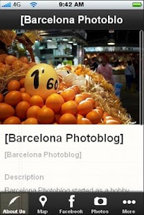 Barcelona Photoblog- screenshot thumbnail