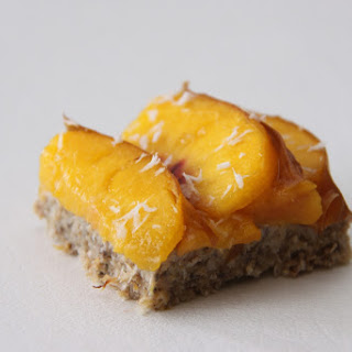 Peach Pie Breakfast Bars