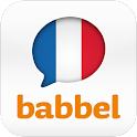 Learn French with babbel.com logo