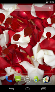 Rose petals Live Wallpaper - screenshot thumbnail
