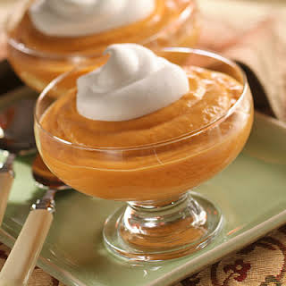 Quick Pumpkin Pudding.