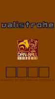 Screenshot of valistroke