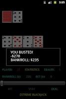 Screenshot of Extreme Blackjack Free