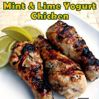 Mint & Lime Yogurt Chicken.