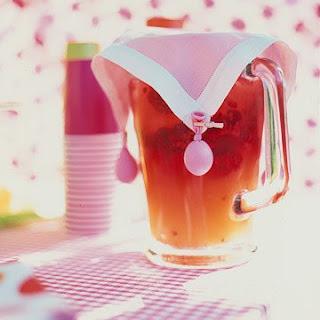 Raspberry-Lemonade Punch.