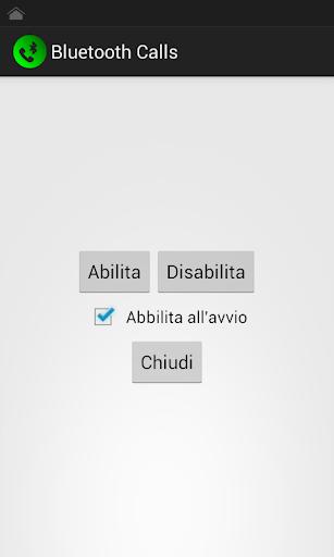 Bluetooth Remote Call