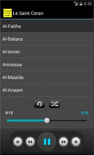 Le Saint Coran Audio