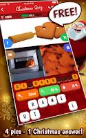 Screenshot of Christmas Quiz