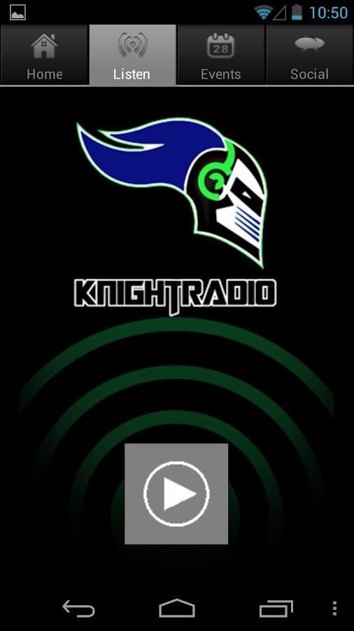 Knight Radio- screenshot