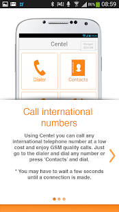 Centel International Calling - screenshot thumbnail