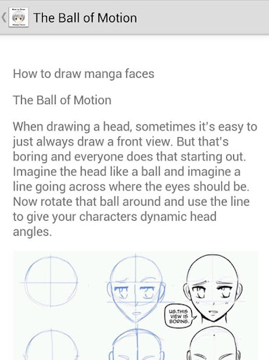 How to Draw Manga Faces