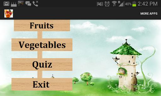 Fruits Vegetables for Kids