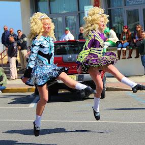Dancing in the street by Dominick Darrigo - People Street & Candids