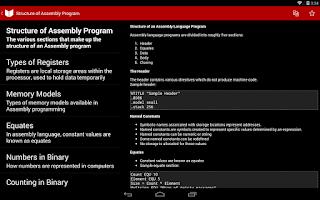 Screenshot of Aiuto Java, C++ & ASM (AdFree)