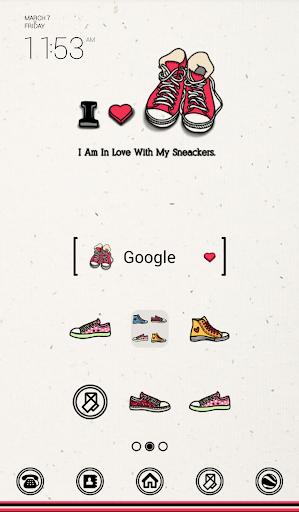 i love sneackers dodol theme