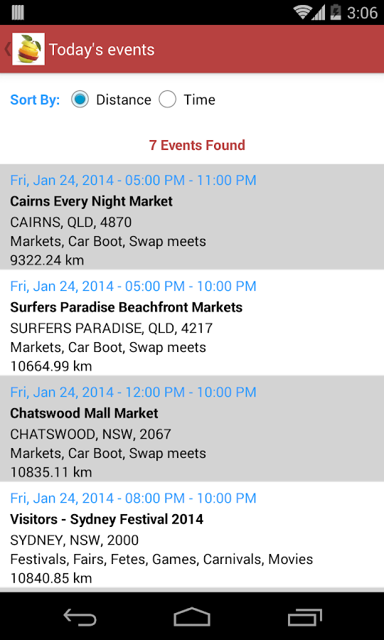 Markets Fairs Festivals- screenshot
