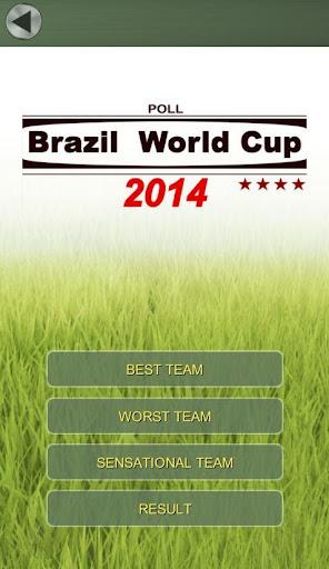 2014 브라질 월드컵 투표 어느나라가 우승할까