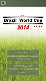 2014 Brazil World Cup POLL