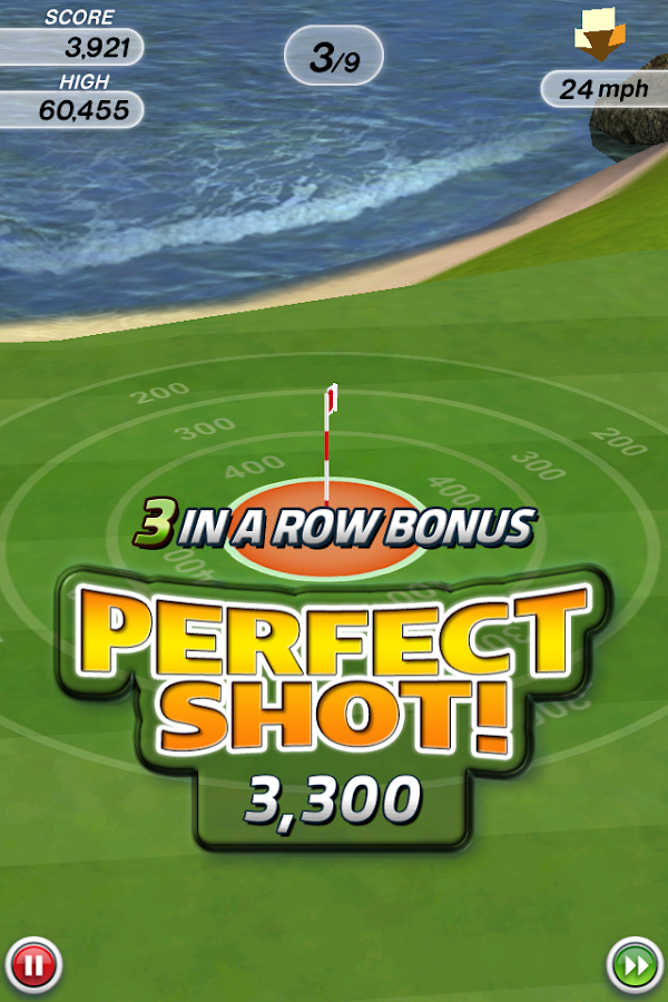 Flick Golf!- screenshot