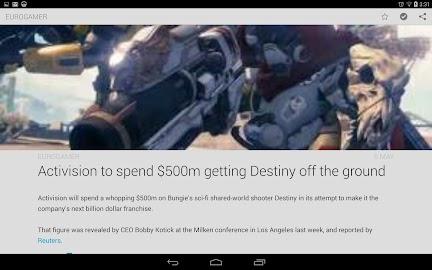 Amber RSS Reader Screenshot 11